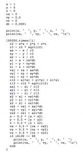 euler code